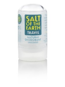 Natural Travel Deodorant Salt of the Earth