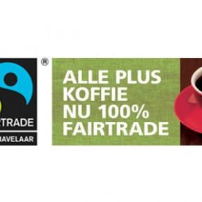 PLUS gaat voor 100% eerlijke koffie en thee