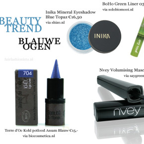 Beauty trend: blauwe ogen